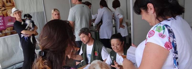 450 animais foram atendidos durante inauguração do Parque Guairacá