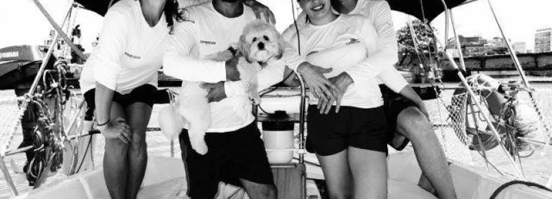 Cachorro participou da 27ª edição da Regata Internacional Recife