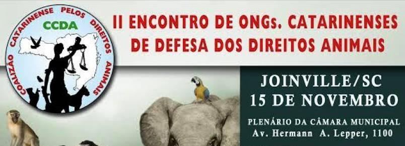 CCDA realiza II Encontro de ONGs Catarinenses de Defesa dos Direitos Animais