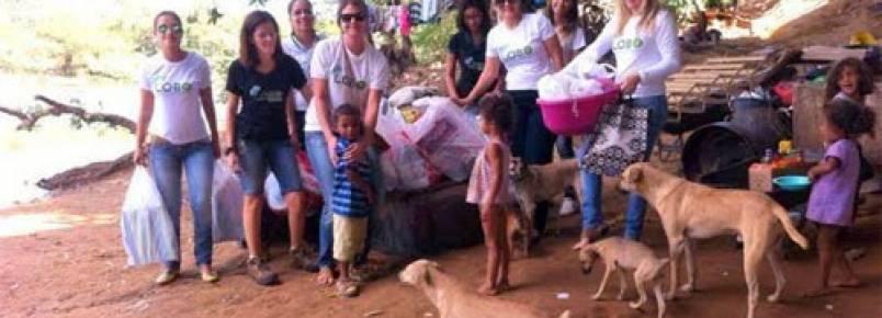 Ong Lobo leva apoio à família e animais que vivem embaixo de ponte em Barreiras