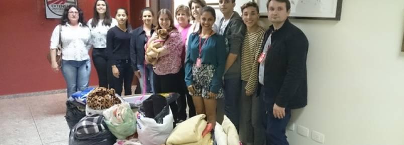 Umuarama: Campanha do curso de Moda arrecada cobertores para animais da Saau
