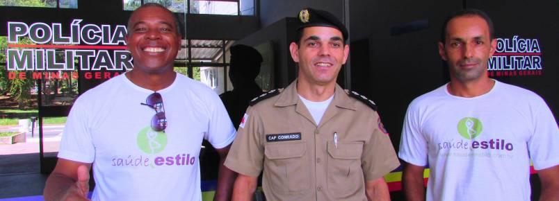 17ª Cia Independente da PM recebe equipe Ga-Ra e faz parceria com o Encontro de Monlevade