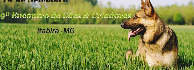 9º Encontro de Cães e Criadores de Itabira, MG, já tem data confirmada