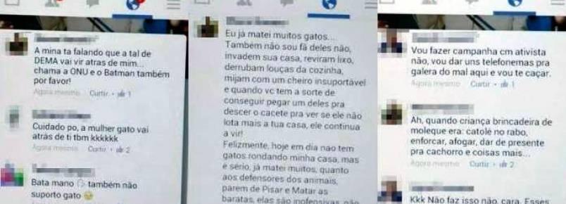 Comentários sobre maus tratos a animais no Facebook geram investigação policial no AM