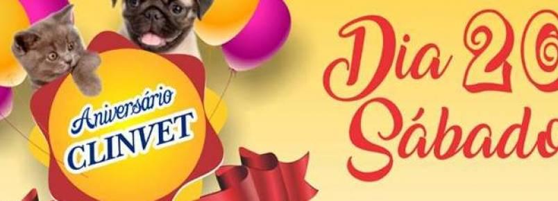 Clinvet comemora aniversário neste sábado, 20, e prepara um super festa