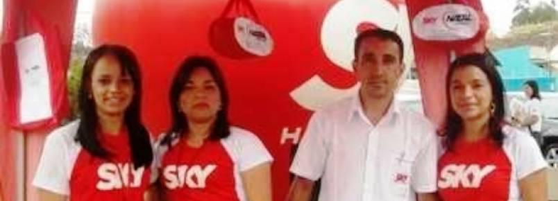 Sky Natal Antenas fechou com o Encontro de Cães e com a Expo Saúde