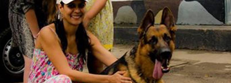 Cachorro especial do BAC é adotado por uma família