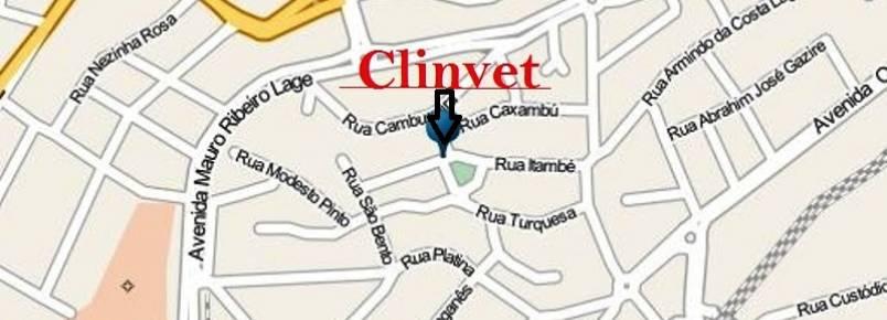Veja como é fácil chegar à Clinvet.