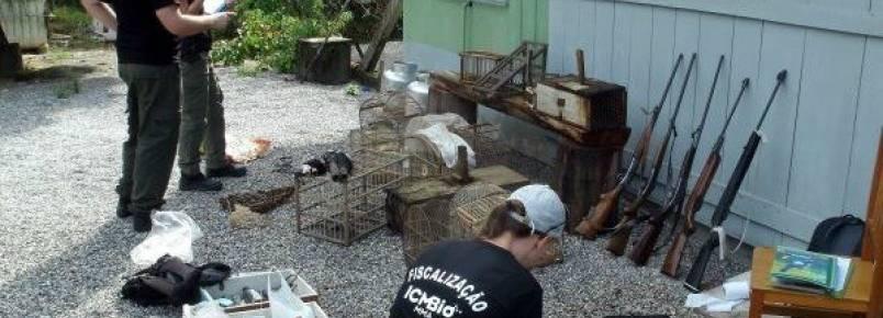 ICMBio realiza fiscalização de fauna em Santa Catarina