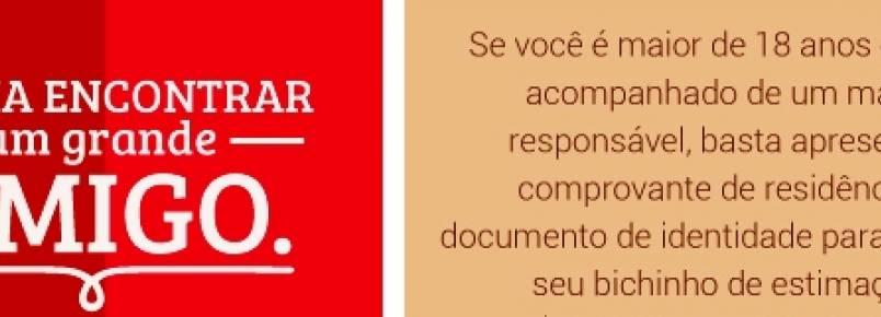 FEIRA DE ADOÇÃO DE ANIMAIS ACONTECERÁ NO NORTH SHOPPING JÓQUEI