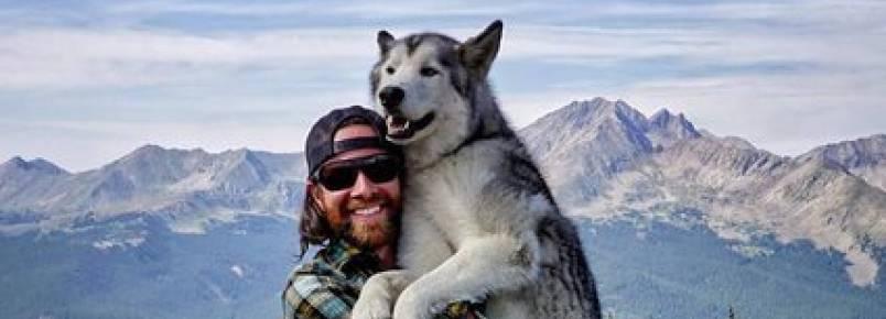 Viajante leva cachorro para todas as aventuras nos EUA e registra momentos incríveis em belas fotos