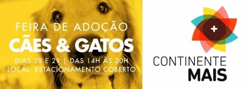 Evento para adoção de animais do Continente Shopping será dia 28 e 29