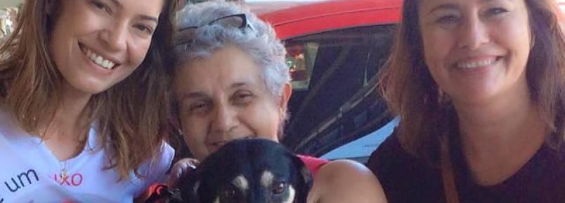 Cadela é adotada após ficar quase seis anos no CCZ da Serra