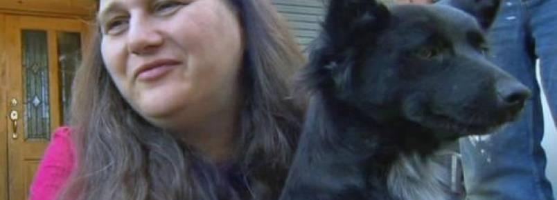 Garota de 2 anos 'foge' de casa e é protegida por sua cachorra