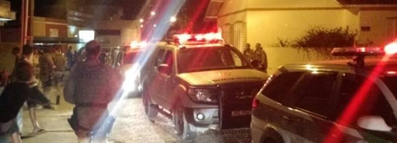 Polícia Militar interrompe farra do boi em Governador Celso Ramos