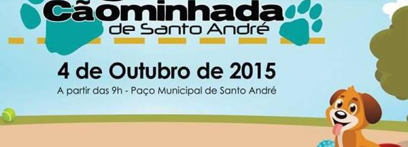 Domingo é dia de cãominhada em Santo André (SP)