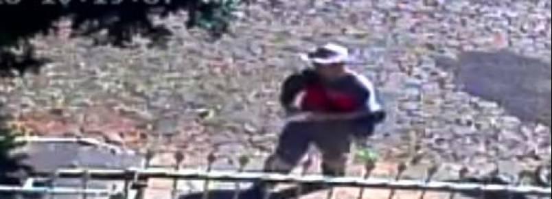 Funcionário da Rio Grande Energia agride cadela e o momento é capturado em vídeo