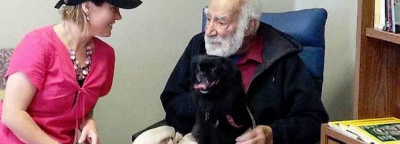 Hospital canadense permite que pacientes recebam a visita de seus animais de estimação